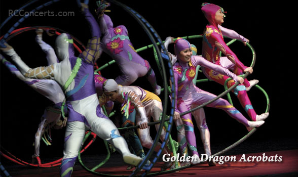 Golden Dragon Acrobats | September 14, 2013